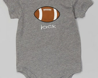 Personalized Football Bodysuit