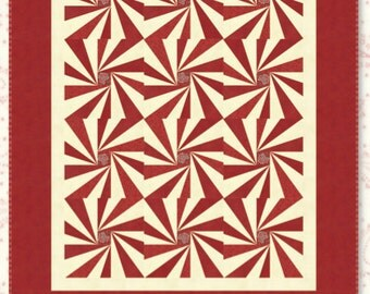 Starburst Quilt Pattern by Minick and Simpson