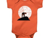 Funny Star Wars Tee At At Wolf Moon Jedi Gift Infant Baby Shirt Creeper