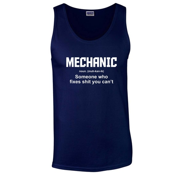 Mechanic Definition Funny Pickup Truck Husband By BLACKOUTTEES