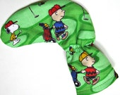 CHARLIE BROWN Golf Club Putter Cover / Headcover / Putter Club Cover