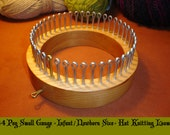 Infant  / Newborn Size - Hat Knitting Loom - Your choice of Gauge - Cottage Looms - board