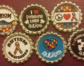 Autism Awareness Magnet Set