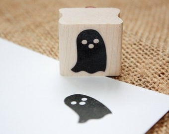 Ghost Rubber Stamp