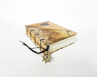 Old World Map - Small Travel Journal, Notebook, Sketchbook