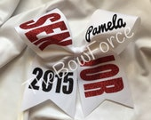 """3"""" Solid Senior Cheer Bow Choose Colors - #209754798"""