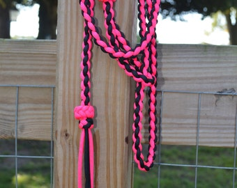 Paracord Over and Under Barrel Racing Whip
