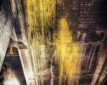 Industrial Art - Melbourne, Australia, Abandoned Power Station, Graffiti Art, Urban Exploration,  Fine Art Photograph