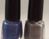 Super Soldiers - handmade nail polish duo inspired by Captain America and Winter Soldier