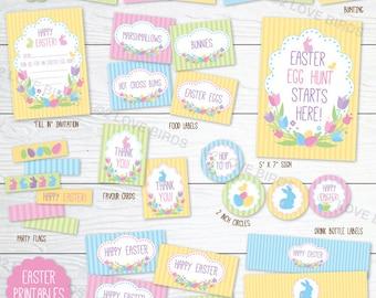 Happy Easter Printable Set