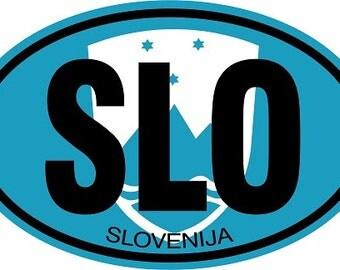 Slovenija Auto Decal (SLO)