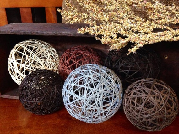 Babbling Brook Decorative Balls Yarn Ball String Balls