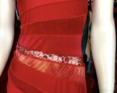 Audacity dress - Vermillion Bucks!