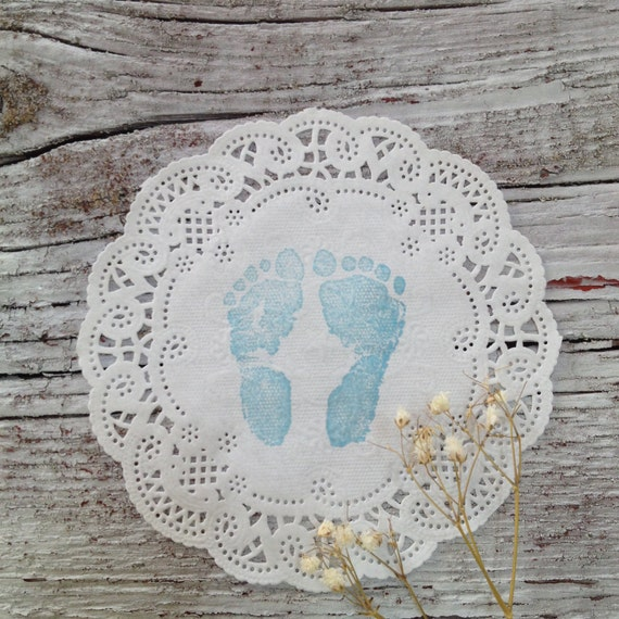 Shabby Chic Baby Shower Doilies 10 Paper By