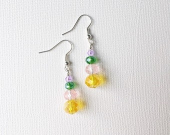ON SALE Spring Crystal Earrings