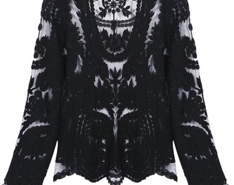 Lace Embroidered Shirt - Ladies
