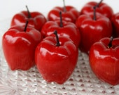 Small Faux Apples- Set of Ten