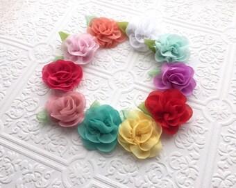 The Posh Fleur Headband or Clip