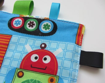 Baby Crinkle Toy | Robot Toy | Sensory Toy