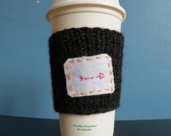 Hunger Games Themed Tea Cup cozy: To Go Cup