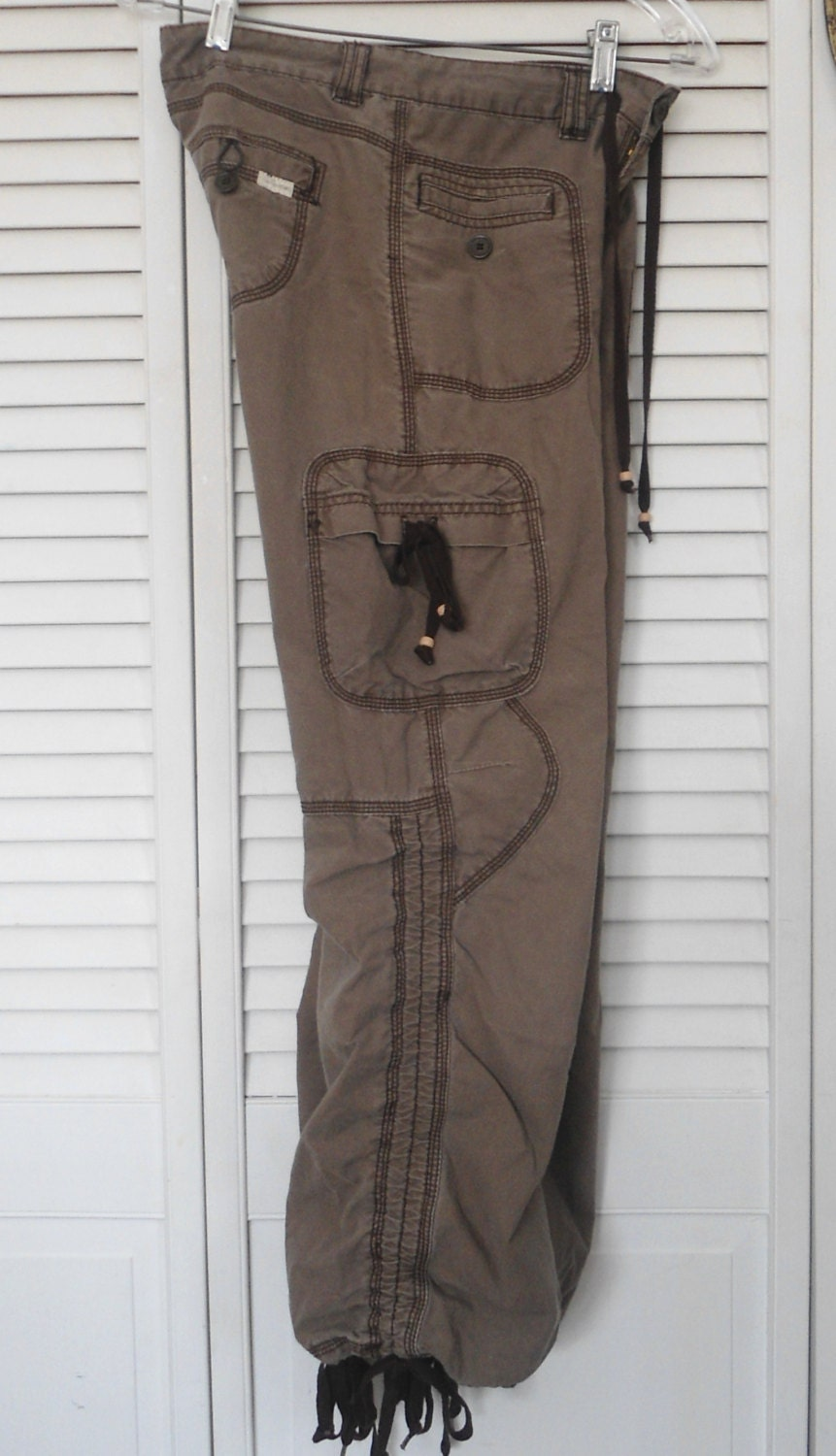 New Pence Casual Pants In Brown  Lyst