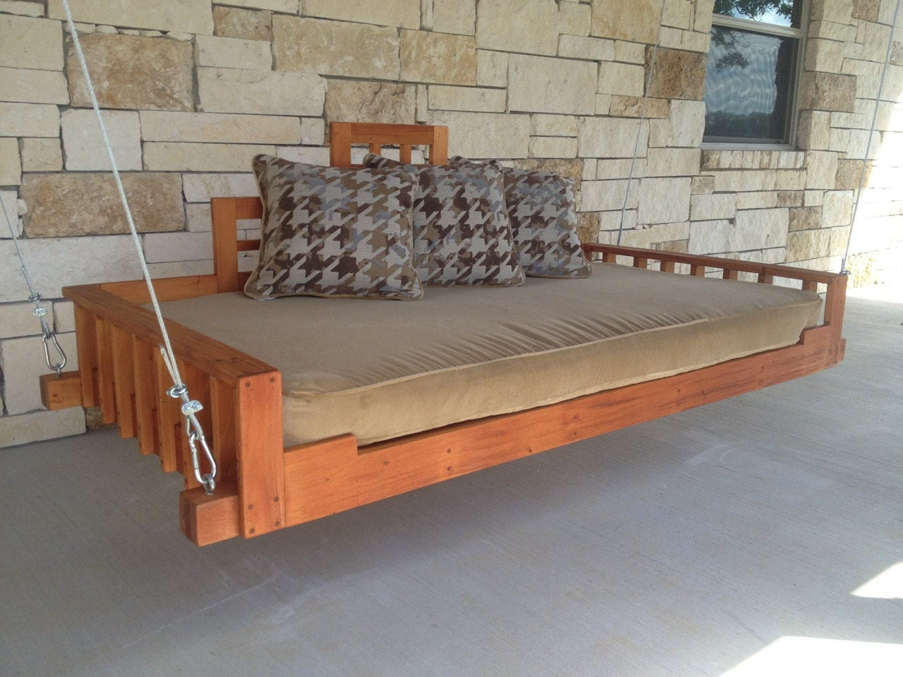 Swing Bed   Porch Swing (Outdoor Bed, Day Bed Swing, Hanging Bed,
