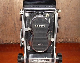 Mamiya C33 TLR Medium Format Vintage Film Camera Price Reduced !