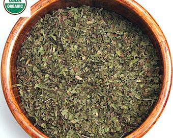 Organic Spearmint leaf-Cut & Sifted Dried herb tea 1 oz