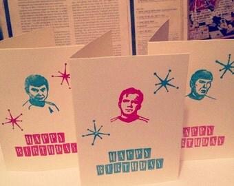 Star Trek Birthday Card - A6