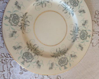 "Vintage  Castleton ""Caprice"" Pattern Luncheon Salad Plate- Great condition 8 1/4"""