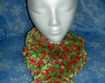 Neon Ribbon Scarf