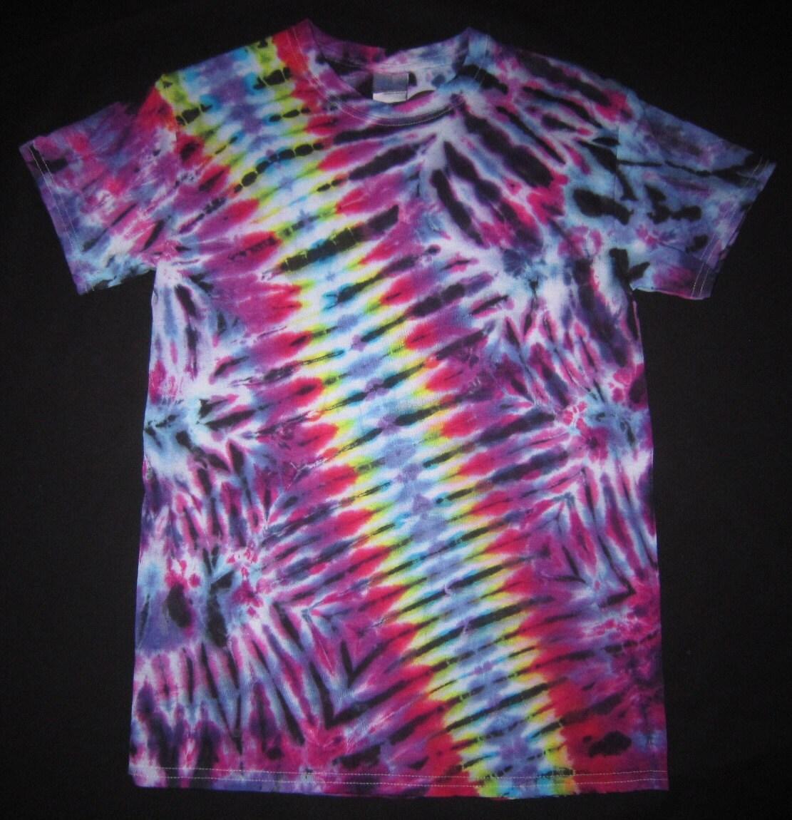 sale s29 psychedelic tie dye t shirt fits unisex