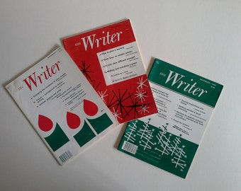 3 Vintage Magazine,  The Writer.