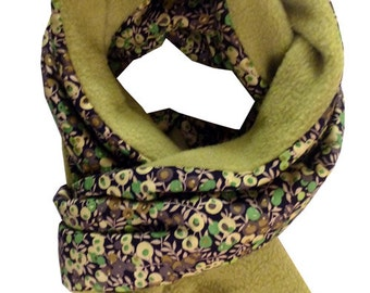 Liberty scarf liberty wiltshire green