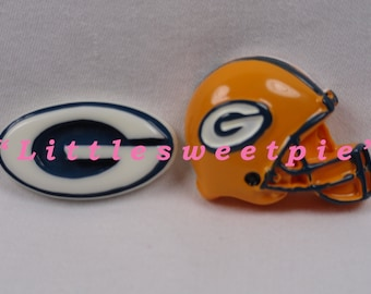 Football sport team Flat Back Resins Cabochons