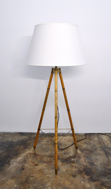 vintage ralph lauren floor lamp irwin collection minimalist. Black Bedroom Furniture Sets. Home Design Ideas