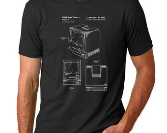 Apple Computer Patent Shirt, Nerd Gift, Apple Shirt, Tech Shirt, Computer Shirt, PP0411
