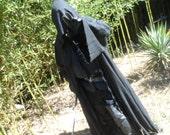 Black rider, death angel, black cloak, costume, Prepare for your next con, scary cloak of death