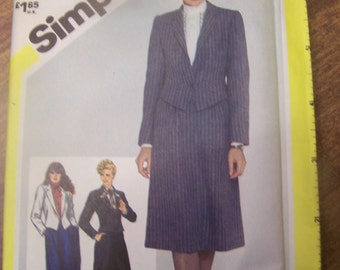 Simplicity 5751, size 12, UNCUT sewing pattern, craft, supplies, Womens, pants, skirt, jacket