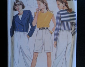 New Look 6252 Misses Jacket,Top,Trousers (pants),Shorts sewing pattern sizes 8-10-12-14-16-18