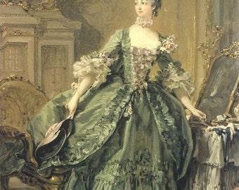 Madame de PompadourCustom 18th Century Gown