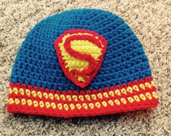 Superman Inspired Hat