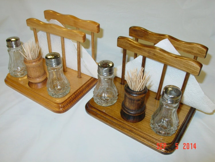 Toothpick salt and pepper napkin holder by twinmtncollections - Toothpick holder for purse ...
