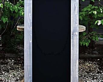Rustic Chalkboard 48x24, Framed Chalkboard, Rustic Home Decor, Kitchen Chalkboard, Rustic Blackboard, Kid's Playroom, Reclaimed Wood, Gift