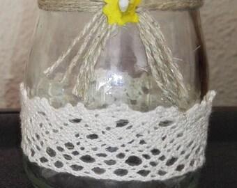 set of two vintage crystal chandelier