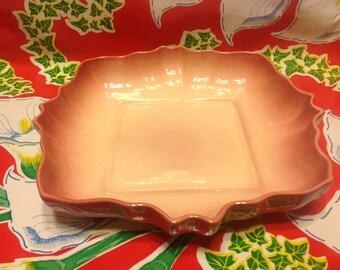 Vintage Los Angeles Potteries ceramic dish