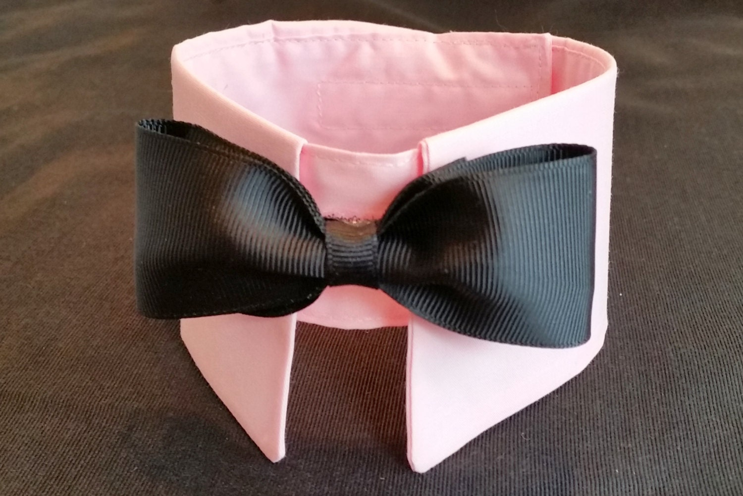 pink collar bow tie bow tie collar boy