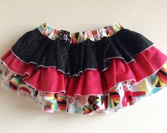 Girl Ruffle Skirt