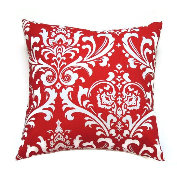 Red Pillow Cover 20x20 Pillow Cover Damask Decorative : il570xN666096538f4b2 from www.etsy.com size 570 x 578 jpeg 103kB