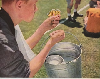 Great Vintage Beech-Nut Gum Ad from a 1957 Life Magazine. Make sure to check out our Coupon Code.